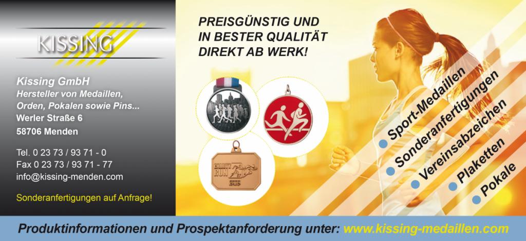 kissing GmbH Medallien, Pokale, Orden, Pins