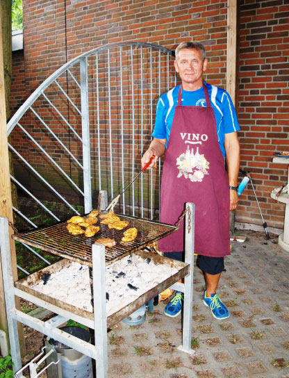 Wolfgang am Grill