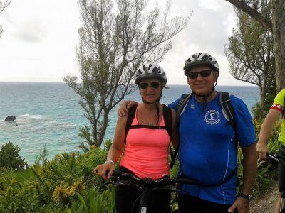 Armin und Angelika auf den Bermudas