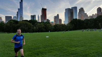 Christoph in New York City, Central Park