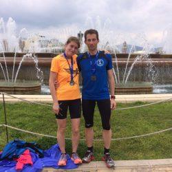 Astrid und Heiko in Barcelona