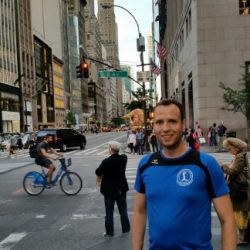 Christoph in New York City, 5th Avenue