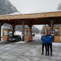 Gletscherstraße in Feichten im Kaunertal (Tirol)