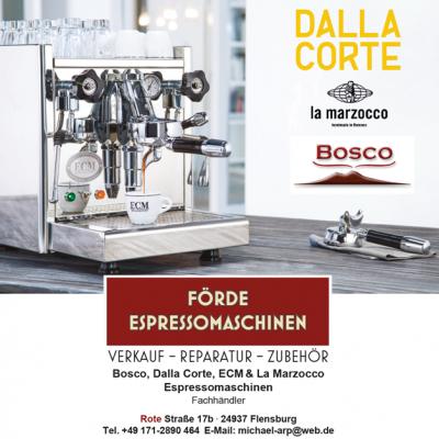 förde espressomaschinen