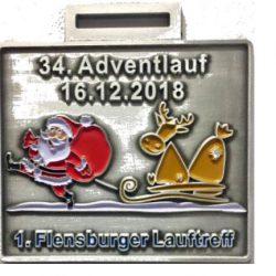 Adventlauf Medallie
