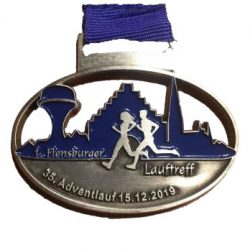Adventlauf Medaille 2019