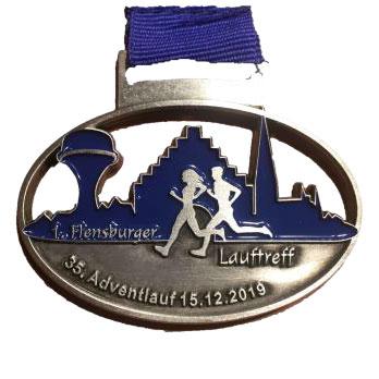 Adventlauf Medaille 2019