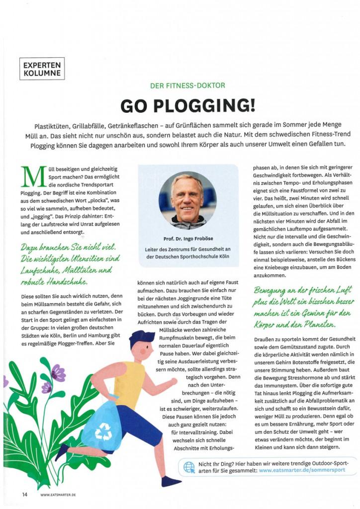 Plogging Artikel