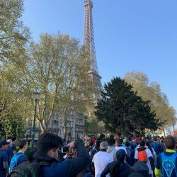 Eiffelturm Paris Marathon